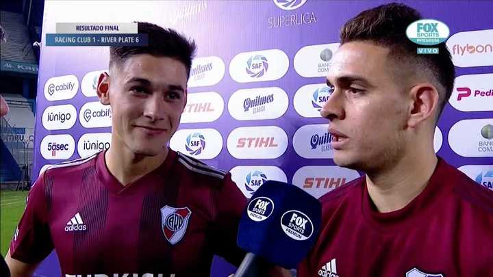 La palabra de Borré y Martínez juntos