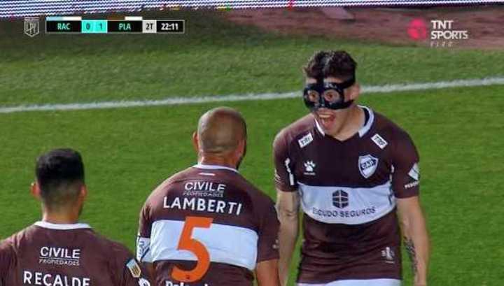 Gol de Lamberti para Platense