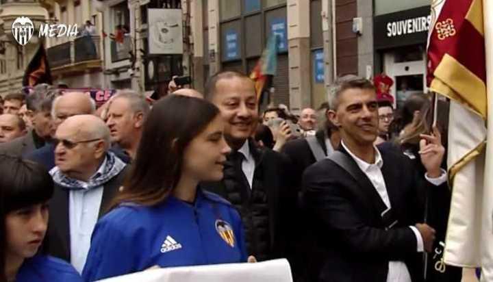 Claudio López y Mario Kempes, abanderados del Valencia