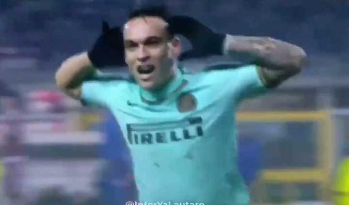 Lautaro puso el 1-0 de Inter vs. Torino