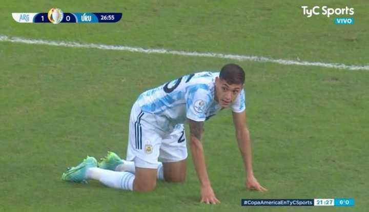 Argentina llegó con Molina