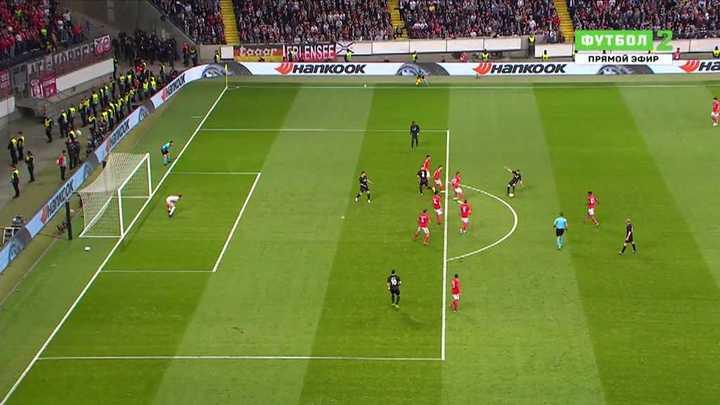 Gol en offside alevoso