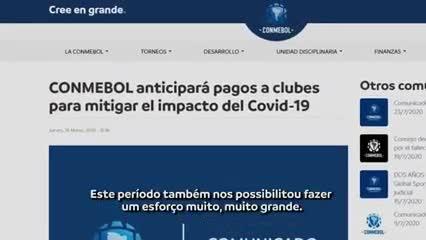 Alejandro Domínguez, presidente de Conmebol: inversión y mucho más
