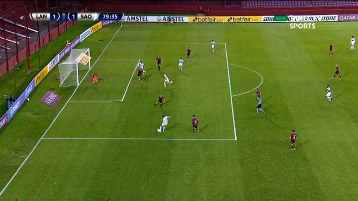 El gol anulado a San Pablo