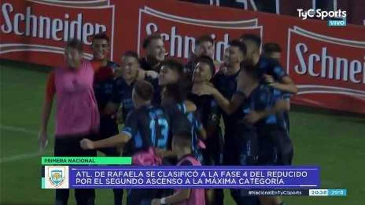 Atlético de Rafaela le ganó a Quilmes en los penales