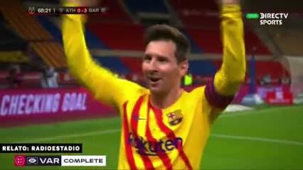Así vivió la radio el primer gol de Messi