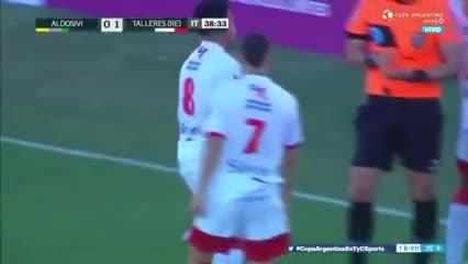 Así fue el gol de Talleres
