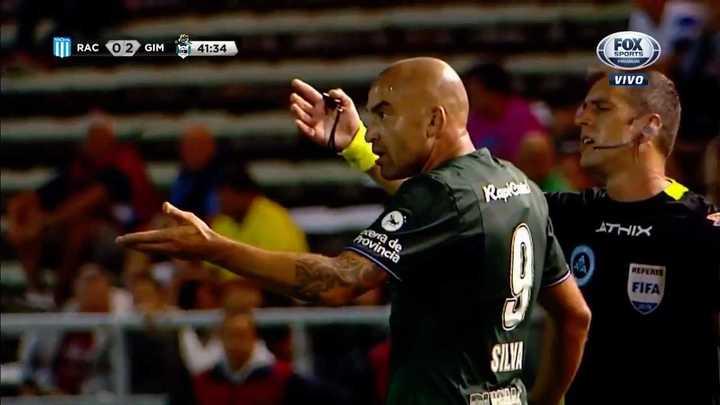 Se enojó el Pelado Silva