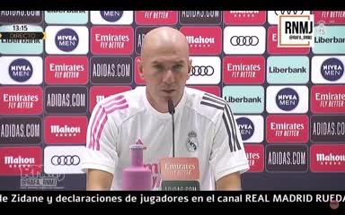 Zidane opina sobre la polémica entre Benzema y Vinicius