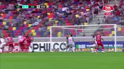 Henríquez anotó el 1 a 0