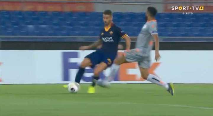 La Roma se puso 1 a 0