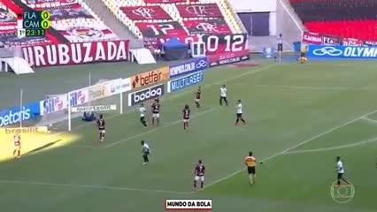Flamengo 0-Atlético Mineiro 1: Filipe Luis en contra