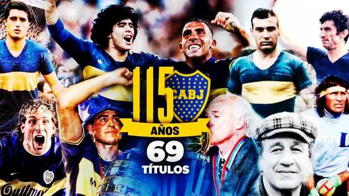 ¡Feliz 115 años, Boca!