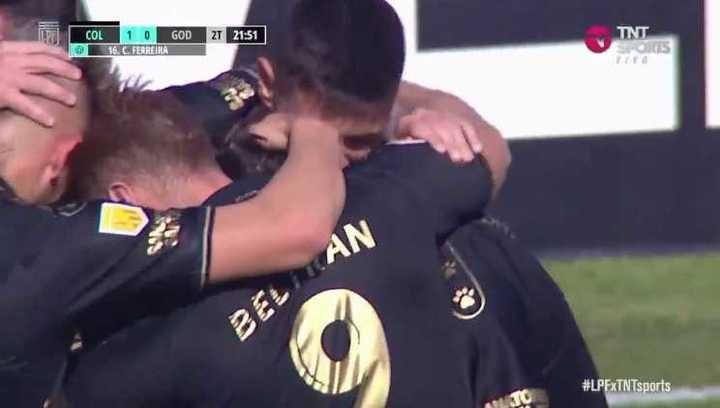 Ferreira puso el 1-0 para el Sabalero