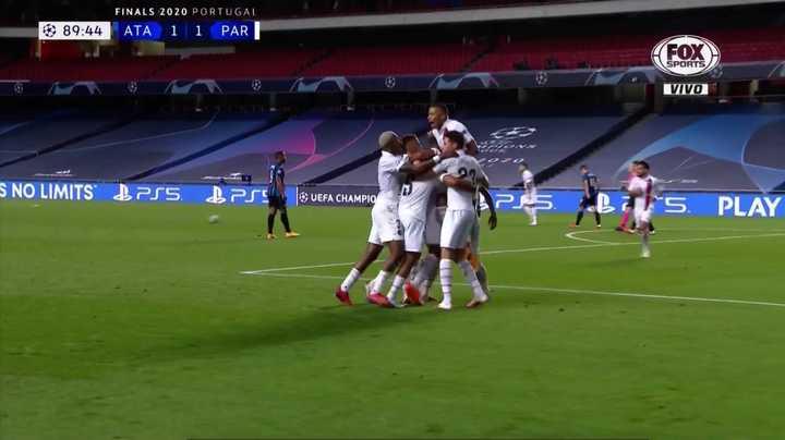 El PSG consiguió el empate