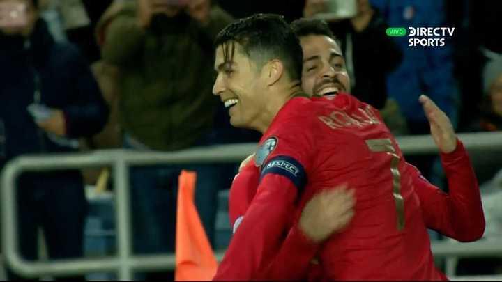 Cristiano metió un hat-trick