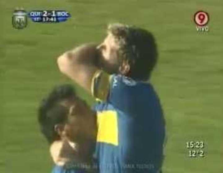 El último gol de Palermo en Boca