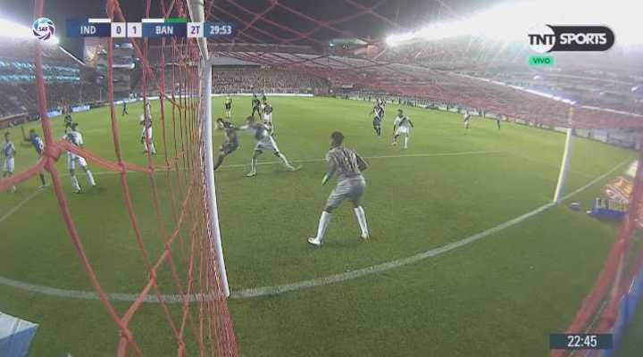¿Fue penal para Independiente?