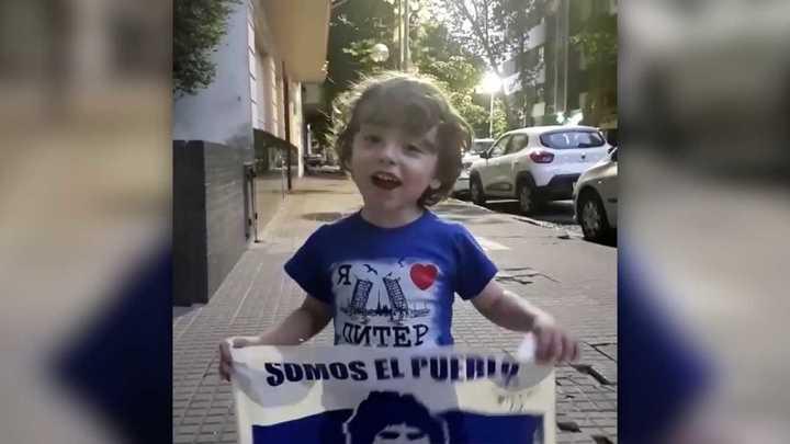 Los videos que publicó Maradona