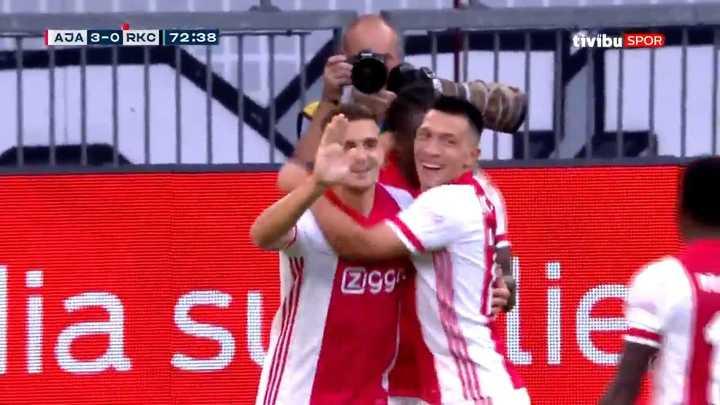 Gol de Lisandro Martínez para el AJax