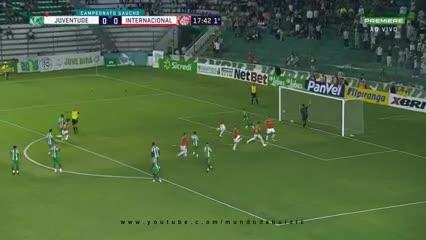 Galhardo marcó el primer gol para el Inter del Chacho