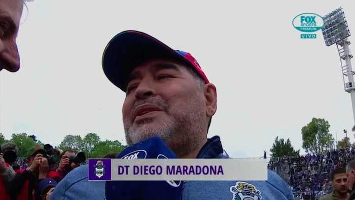El recuerdo de Maradona y su debut