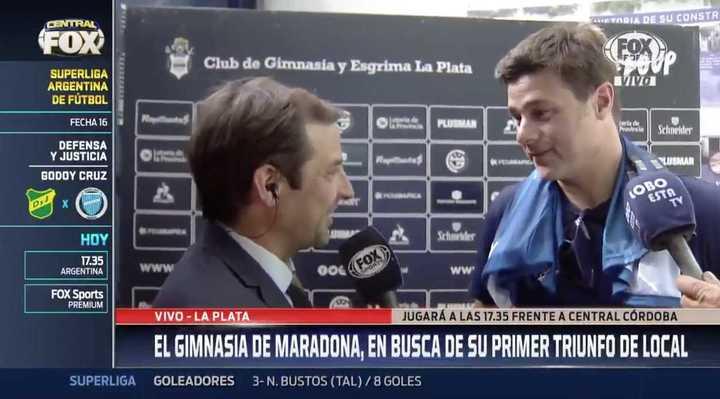 """Mauricio Pochettino: """"Le quise devolver la gentileza a Diego"""""""