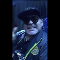 Maradona saludó a Sagra y a San Martín de Tucumán