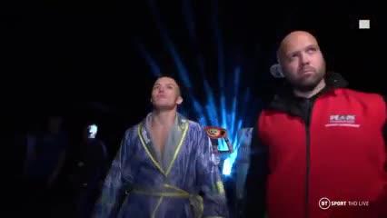 Un boxeador al ritmo del Leeds