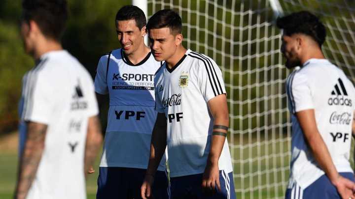 Di María dice que si se trata de recambio, no deberían citar a Messi, Otamendi, Agüero...