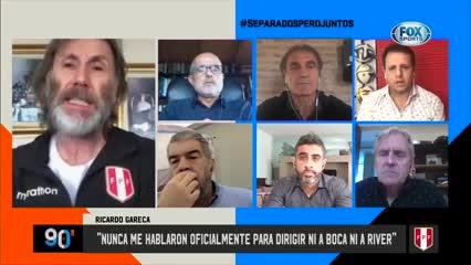 Ricardo Gareca habló sobre los rumores de Boca y River