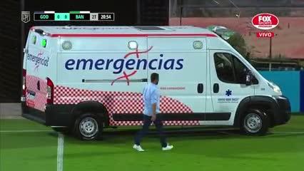 El Morro García salió lesionado