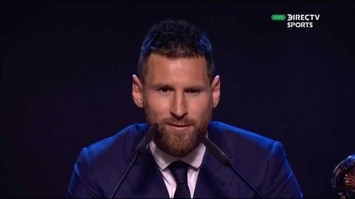 Messi se quedó con el premio The Best como mejor jugador del año