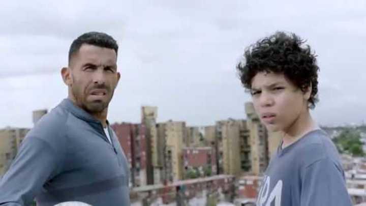 El trailer de la serie de Tevez