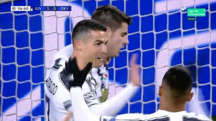 El gol de Cristiano Ronaldo ante Dinamo Kiev