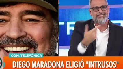 Maradona chicaneó a Rial