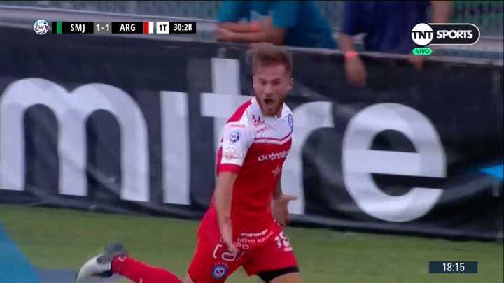 Alexis marcó el empate del Bicho
