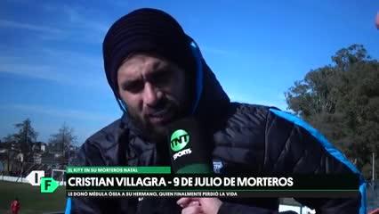 Kity Villagra: el trasplante, la muerte de su hermano y el adiós al fútbol profesional