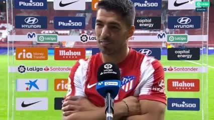Luis Suárez explicó para quién fue el festejo del teléfono