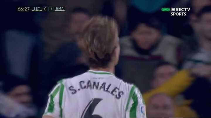 Canales empató el partido