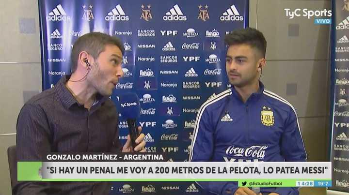 """""""Los penales los patea el 10"""""""