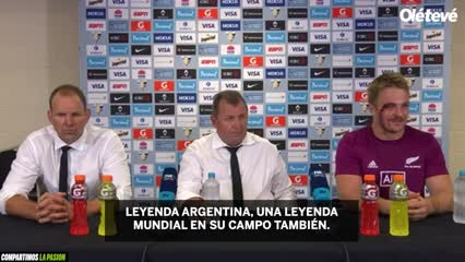 """""""Nuestros respetos a una leyenda argentina"""""""
