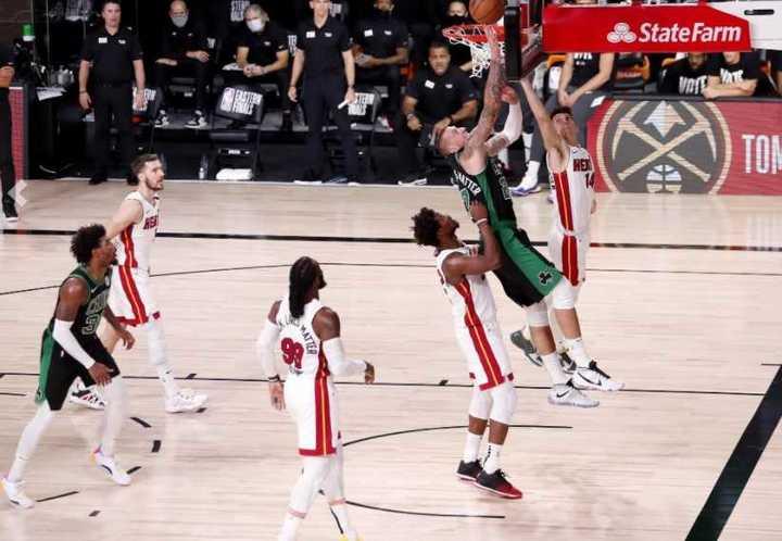 Las cinco mejores jugadas de la 5° final del Este entre Miami y Boston
