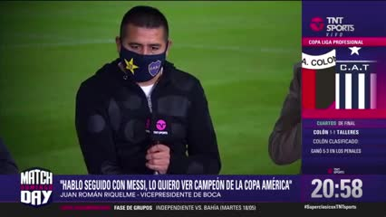 """Riquelme: """"Maradona era nuestro héroe, nuestro Superman"""""""