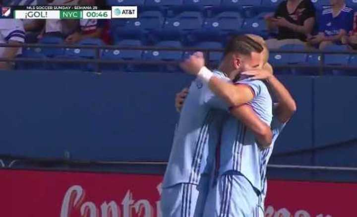 El gol récord de Castellanos en la MLS