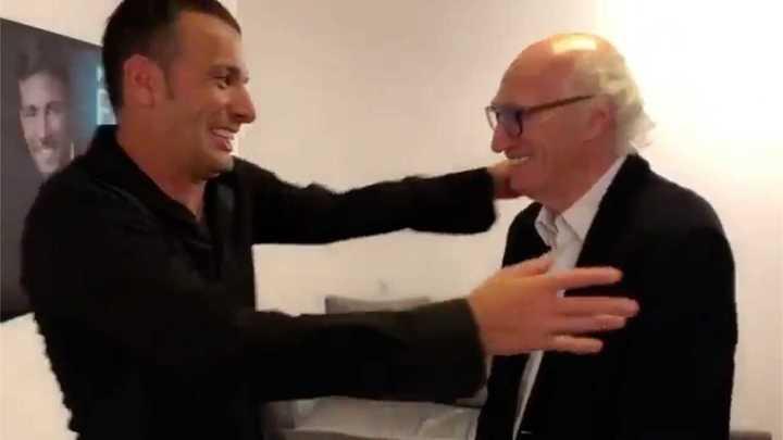 El divertido encuentro entre Martín Bossi y Carlos Bianchi