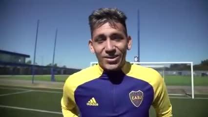 La alegría de Luis Vázquez por su renovación con Boca