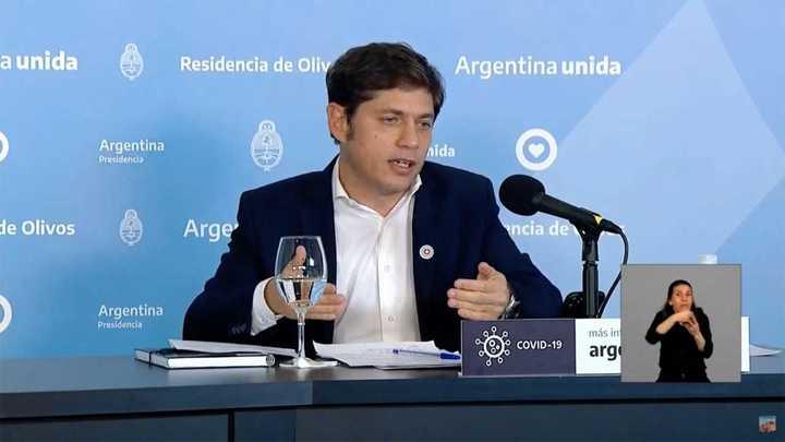 Kiciloff explicó la diferenciación de fases en la provincia de Buenos Aires