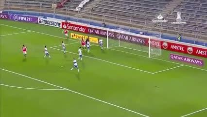 Leandro Fernández marcó el 1 a 1