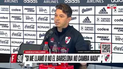 """""""El clásico no define el campeonato"""", dijo Gallardo"""